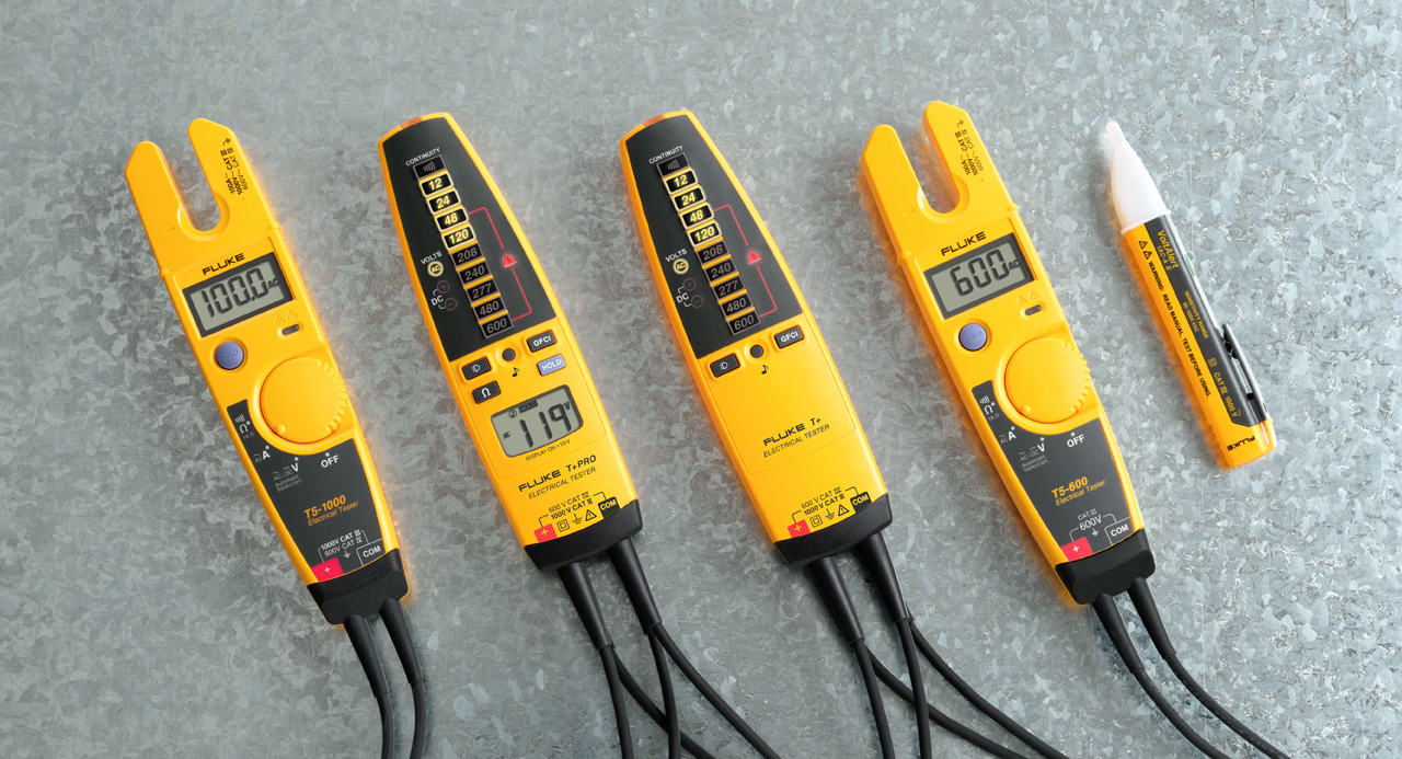 Fluke T Pro Electrical Tester : Fluke electrical testers on wilmington instrument co
