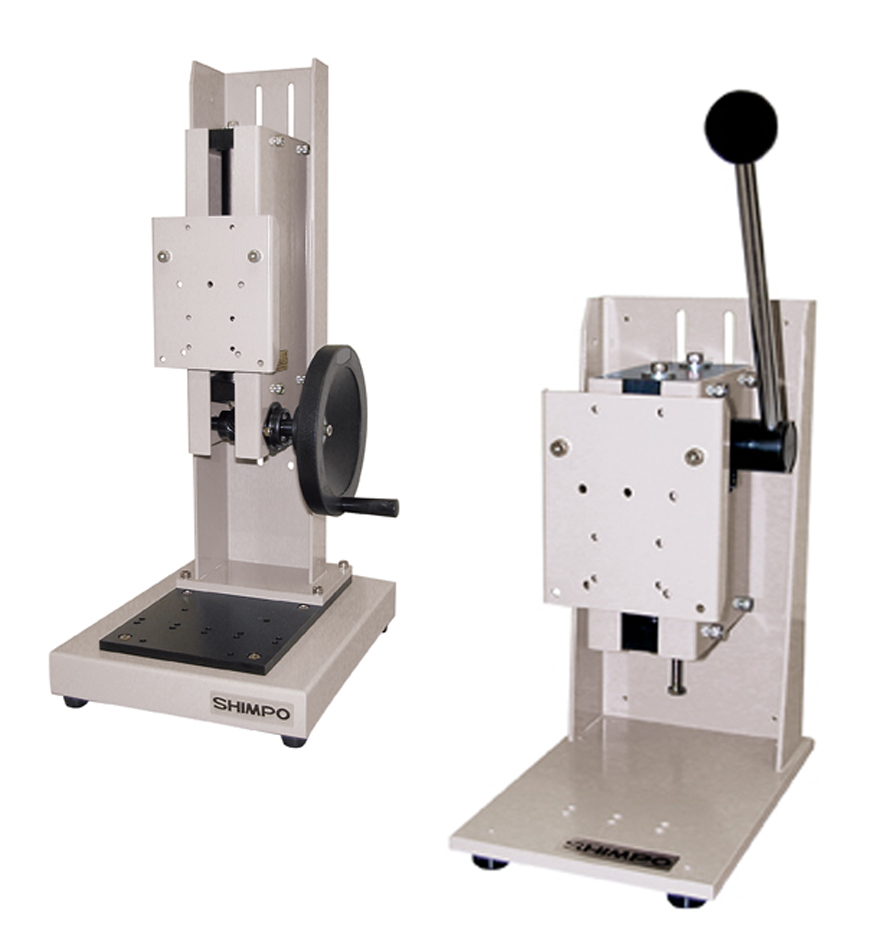 Manual Lever and Hand Wheel Force Test Stands On Wilmington