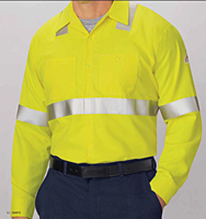 Hi-Visibility Flame-Resistant Work Shirt